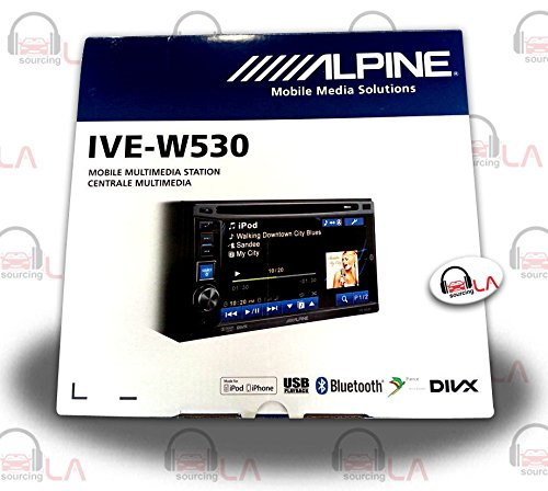 best alpine double din ive w530 and cde w235bt in dash best double din head unit. Black Bedroom Furniture Sets. Home Design Ideas