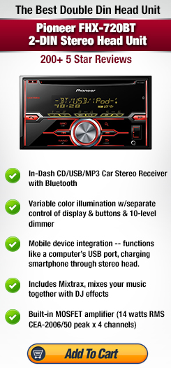 Kenwood DPX500BT Double DIN Stereo Head Review - Best Double