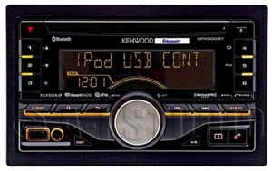 Kenwood DPX500BT Double DIN Stereo Head