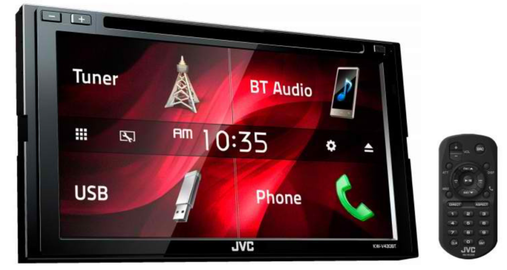 JVC KW-V430BT-car audio player with usb