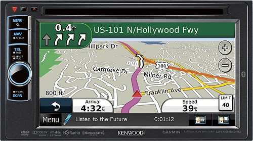 Kenwood dnx6190HD traffic data