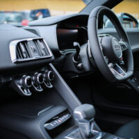 car dashboard black
